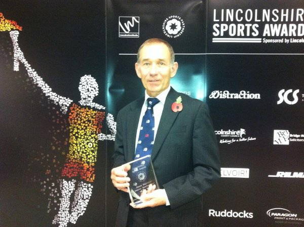 Steve Seymour; Lincolnshire Sports' Veteran of the Year 2013