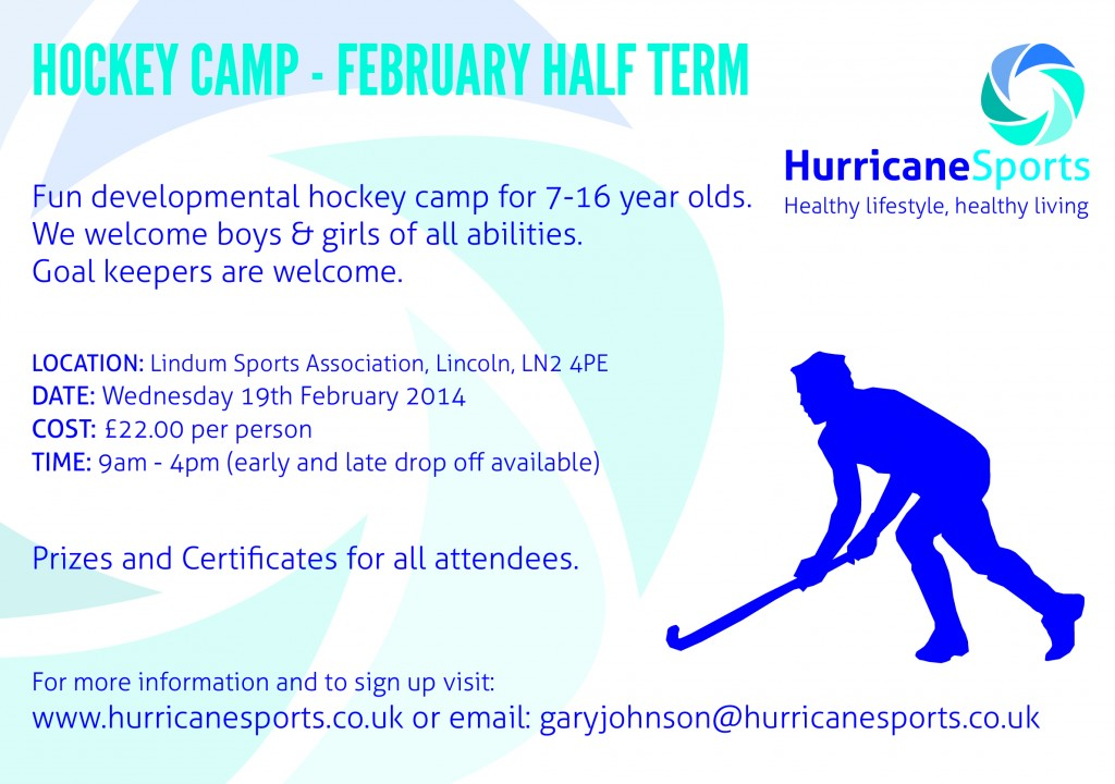 Hurricane Feb2014 hockey Camp