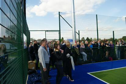 Lindum Sports Association Hockey Pitch Opening