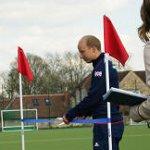 Glenn Kirkham Opening the Lindum Hockey Pitch