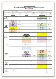 JDC Timetable 2014-15