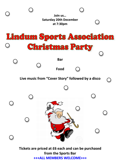 Lindum Sports Association Christmas Party 2014