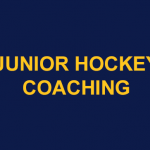 Junior Coaching Roles still available