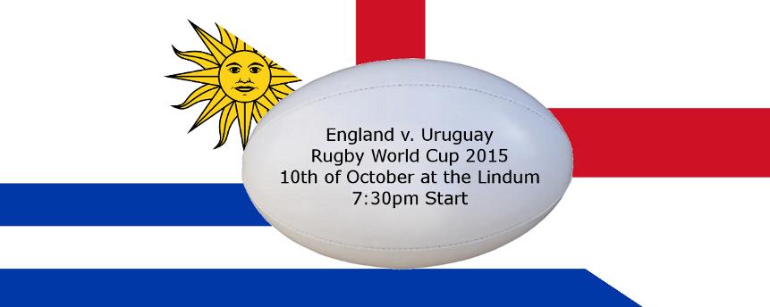 Social: England v. Uruguay Rugby
