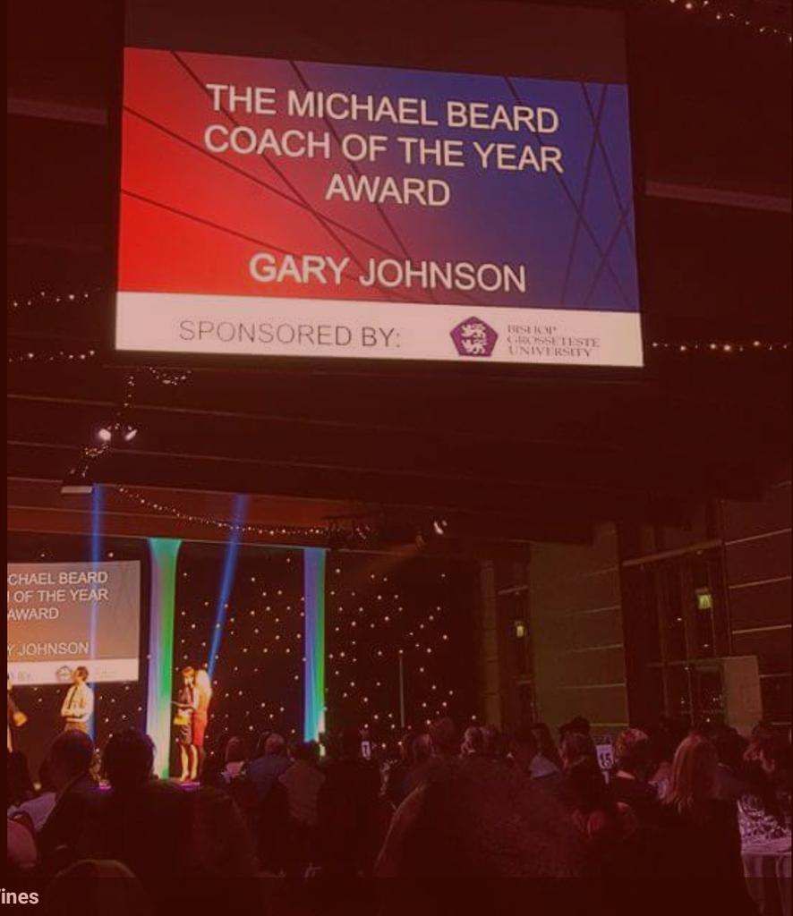 Gary Johnson - Coach of the Year 2015