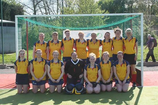 Ladies 1st Team Yorkshire Play-Off Winners 2017