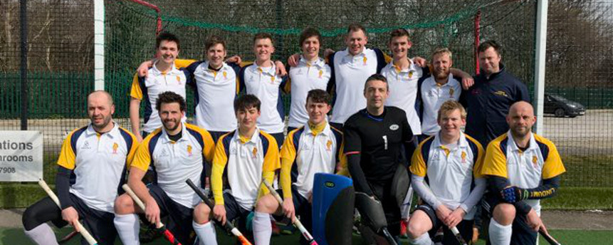 Mens 1st Team are North Hockey 1 Champions