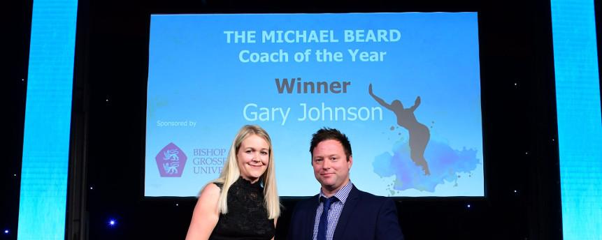 Gary Johnson, Coach of the Year 2018