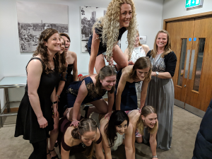 Ladies 1s at the Presentation Ball 2019