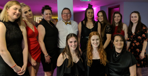 Ladies 2s at the Presentation Ball 2019