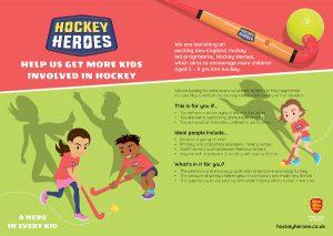 Hockey Heroes Leaflet