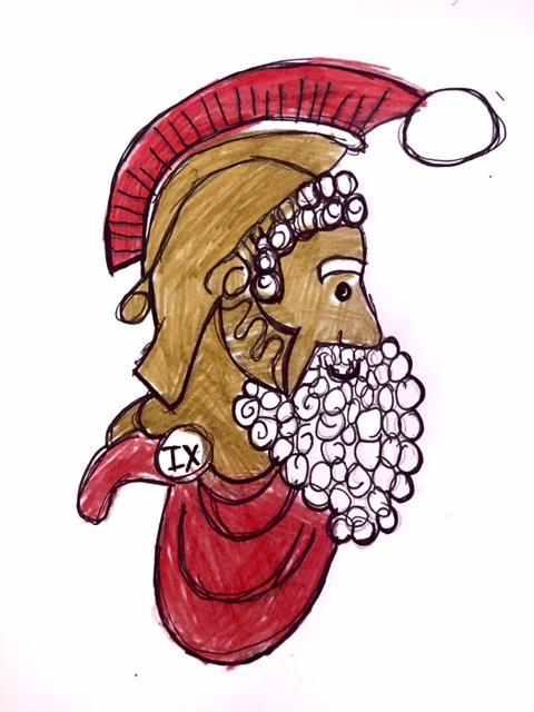 Christmas Logo by Eva Belli