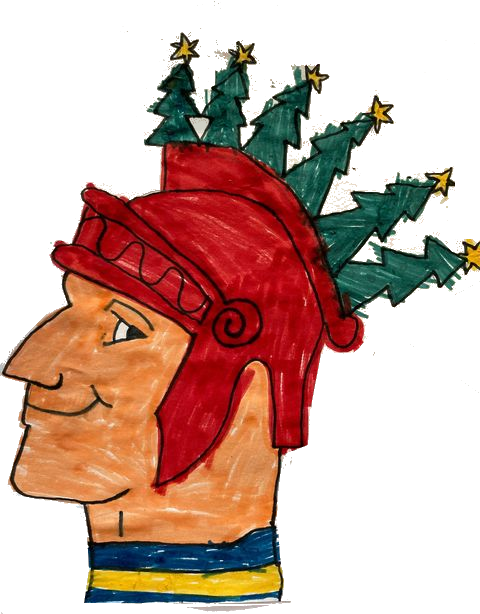 Christmas Logo by Amelia Ingram